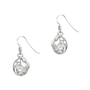 Mackintosh Silver Drop Earrings 9071